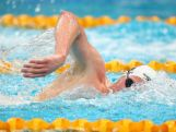Mack Horton of Victoria competes in the Men's 800m Freestyle Final during the day four of the Australian National Swimming Championships on April 6, 2015.