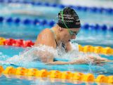 Taylor McKeown of Qld competes in the Women's 200m Breaststroke Semi-Final during the day five of the Australian National Swimming Championships on April 7, 2015.