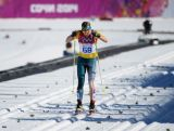 Esther Bottomley of Australia competes in the Women's 10 km Classic during day six of the Sochi 2014 Winter Olympics at Laura Cross-country Ski & Biathlon Center on February 13, 2014 in Sochi, Russia.