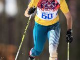 Aimee Watson of Australia competes in the Women's 10 km Classic during day six of the Sochi 2014 Winter Olympics at Laura Cross-country Ski & Biathlon Center on February 13, 2014 in Sochi, Russia.