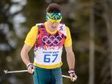 Callum Watson competes in the Men's 15 km Classic during day seven of the Sochi 2014 Winter Olympics at Laura Cross-country Ski & Biathlon Centre.