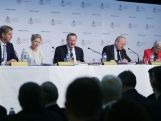 AOC President John Coates speaks during the Australian Olympic Committee Annual General Meeting at Museum of Contemporary Art on May 9, 2015 in Sydney, Australia.