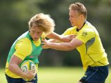 Australian Men's Rugby Sevens Training Session