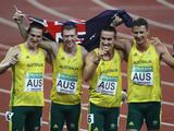 After a 6th placing in Beijing 2008, Australia has broken onto the medal podium by claiming Gold in Delhi in the Men's 4x100m Relay. The team consisting of Kevin Moore, Joel Milburn, Sean Wroe and Brendan Cole ran home with a time of 3:03:30 to claim Gold ahead of Kenya (Silver) and England (Bronze). For Moore and Cole, London will be their first time on the Olympic Stage, with both Milburn and Wroe competing in Beijing 2008. Proving they have what it takes to tackle their competitors on the world stage, these four boys will be looking to do better than our last Olympic attempt of 6th place.
