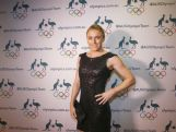 Sally Pearson arrives to the Athletics Australia Gala on April 3, 2016 in Sydney.