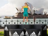 SYDNEY, AUSTRALIA - APRIL 19:  Australian Olympian, Stephanie Talbot poses during the Australian Olympic Games Official Uniform Launch at the Park Hyatt Hotel on April 19, 2016 in Sydney, Australia.  (Photo by Matt King/Getty Images for adidas)