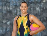 Kelsey Wakefield poses during the Speedo Rio 2016 Team Suit Launch