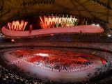Performers take part in the the Opening Ceremony for the Beijing 2008 Olympic Games at the National Stadium on August 8.