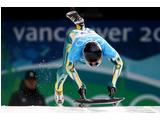 Emma Lincoln-Smith of Australia  competes in the women's skeleton training on day 4 of the 2010 Winter Olympics at Whistler Sliding Centre.