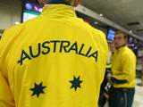 Australian athletes prepare to depart for the inaugural Youth Olympic Games in Syngapore at the Sydney International Airport