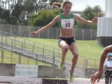 Amy McCormick represents Australia Green on day 4 of the Australian Youth Olympic Festival.