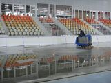 Adler Arena will play host to the Speed Skating events during the Sochi 2014 Winter Olympic Games. The World Press Briefing took place during November 2012.