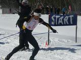 Alex Almoukov in action at the 2009 National Biathlon Championships.