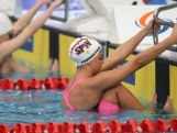 Amy Forrester in the pool ahead of the second summer Youth Olympic Games in Nanjing, China.