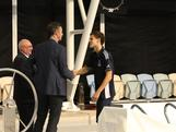 Mitch Larkin is presented to Chef de Mission Nick Green and Swimming Australia President David Urquhart at the announcement of the 2012 Australian Olympic Swim Team at the conclusion of the National Championships in Adelaide on 22 March, 2012. 44 athletes were selected.