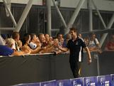 James Magnussen is cheered on during the announcement of the 2012 Australian Olympic Swim Team at the conclusion of the National Championships in Adelaide on 22 March, 2012. 44 athletes were selected.