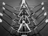 Men's quad scull trials at the 2012 National Selection Trials at the Sydney International Regatta Centre in Penrith
