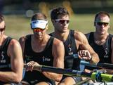 Men's Four compete at the 2012 National Selection Trials at the Sydney International Regatta Centre in Penrith