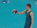 Australia vs Argentina - Men's Volleyball Day 2 London 2012