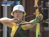Elisa Barnard - Archery Day 3 London 2012