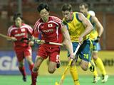 The Kookaburras secured a 3-1 victory over Japan at the National Hockey Centre in Canberra on 29 March, 2012. Goals to Simon Orchard, Chris Ciriello and Russell Ford all helped to secure the victory.