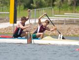 17 year old Queensland paddler's Alex Haas and Jake Donaghey have  become the youngest Australian sprint paddlers in the sports history to be selected for Olympic nomination following victory in the C2 1000 final at the Oceania Championships in Penrith, NSW.