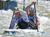 The Men's C2 Duo of Kynan Maley and Robin Jeffery competed at the Oceania Slalom Championships held at the Penrith Whitewater Stadium in Sydney.