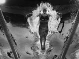 Alicia Coutts on her way to a silver medal in the 100m butterfly at the 2011 world championships in Shanghai.