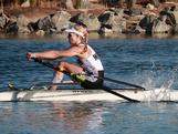 Kim Crow (VIC) won her second women's single scull national title with a start-to-finish victory. Crow crossed the line in a time of 7:37.94, while Pippa Savage (QLD) and Kerry Hore (TAS) also occupied the podium at the 2012 Australian Rowing Championships held at the Champions Lake Regatta Centre in Perth, Western Australia.