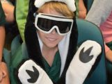 Students at the top end of Australia dress up in winter gear for Chat to a Champ.