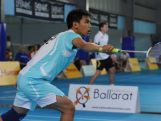 Daniel Guda is one of two athletes heading to the YOG to represent Australia in Badminton