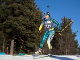 Darcie Morton competes in the Women's 6km sprint during the Winter Youth Olympic Games, Lillehammer Norway