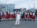 Day 43 - Sochi 2014 Torch Relay in Blagoveshchensk, November 19, 2013