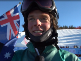 Alex Dickson claims snowboard cross silver