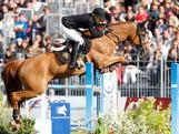 Edwina Tops-Alexander and Itot du Chateau in Chantilly.