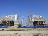 The Fisht Olympic Stadium will be the venue for the Ceremonies at the Sochi 2014 Winter Olympic Games.