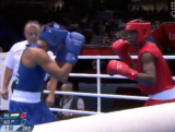 Cameron Hammond vs Niger - Welterweight Boxing Day 2 London 2012