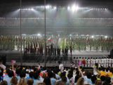 The sights and sounds of the Opening Ceremony for the second summer Youth Olympics in Nanjing, China.