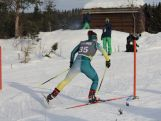 Lily Boland in action at the Lillehammer 2016 Youth Winter Olympic Games