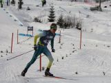 Liam Burton in action in the men's Cross-Country Cross Free event