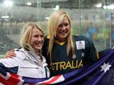 Snowboarder Alex Fitch and ice hockey player Sharnita Crompton from the NSW Central Coast won Australia's first medals at the Winter Youth Olympics with bronze in the snowboard slopestyle and ice hockey skills challenge respectively on January 19, 2012 in Innsbruck, Austria.