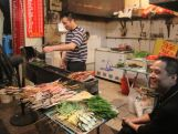 A Nanjing restaurant preparing local food.