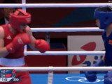 Luke Jackson vs China - Lightweight Boxing Day 2 London 2012