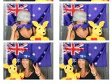 Ski Cross Olympian Jenny Owens in the photo booth
