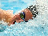 Kyle Chalmers in action in the lead up to the Youth Olympic Games in Nanjing, China.