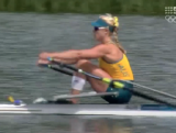 Kim Crow - Single Sculls Heat 2 London 2012