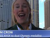 AYOF helped Crow to Olympic medals in London