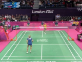 Victoria Na vs. Slovakia - Badminton Day 3 London 2012