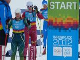 Lucy Glanville begins her 5km classic race at the Winter Youth Olympic Games in Innsbruck, Austria.