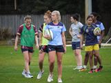 The Australian Youth Olympic rugby sevens squad trains in Sydney on July 26, 2014 ahead of the Youth Olympic Games (YOG) in Nanjing, China this August.